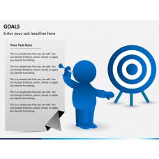 Goals bundle PPT slide 1