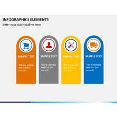 Infographic elements PPT slide 1