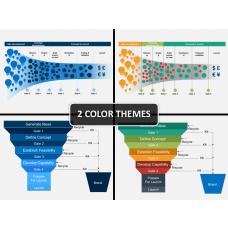 Innovation funnel PPT cover slide