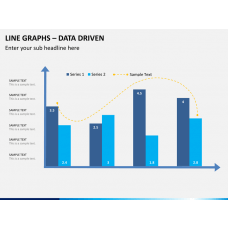 Line graphs PPT slide 1