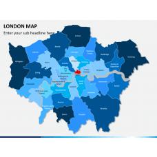 London map PPT slide 1
