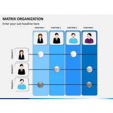 Matrix organization PPT slide 1