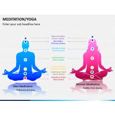 Meditation/yoga PPT slide 1