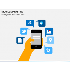 Mobile marketing PPT slide 1