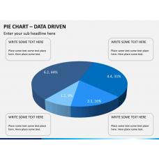 Pie chart PPT slide 1