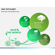 Save the planet PPT slide 1