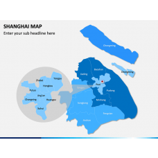 Shanghai Map PPT Slide 1
