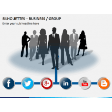 Silhouettes group PPT slide 2
