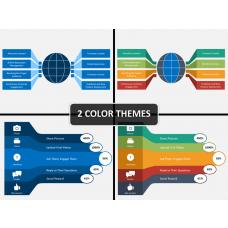 Social media marketing PPT cover slide