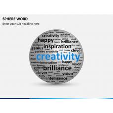 Sphere word PPT slide 1