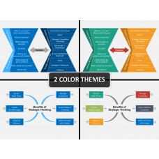 Strategic thinking PPT cover slide