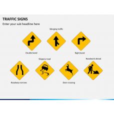 Traffic signs PPT slide 1