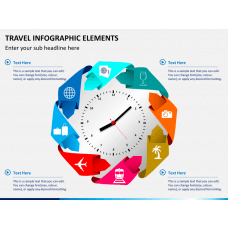 Travel infographic PPT slide 1