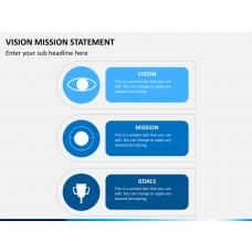 Vision mission bundle PPT slide 1