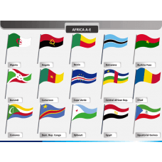 World flags PPT slide 1