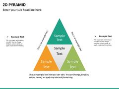 2D pyramid PPT slide 12