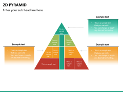 2D pyramid PPT slide 21