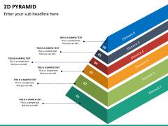 2D pyramid PPT slide 22