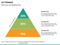 2D pyramid PPT slide 16