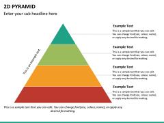 2D pyramid PPT slide 17