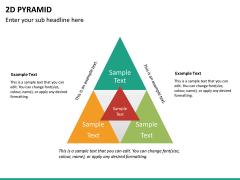 2D pyramid PPT slide 18