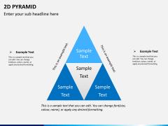 2D pyramid PPT slide 1