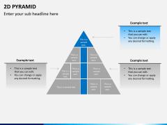 2D pyramid PPT slide 10