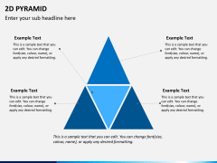 2D pyramid PPT slide 2