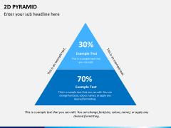 2D pyramid PPT slide 4