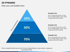 2D pyramid PPT slide 5