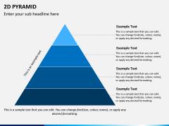 2D pyramid PPT slide 6