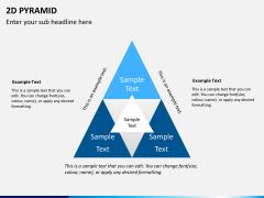 2D pyramid PPT slide 7