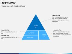 2D pyramid PPT slide 8
