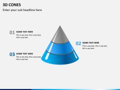 3D cones PPT slide 2