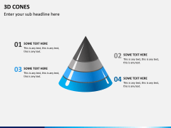 3D cones PPT slide 3