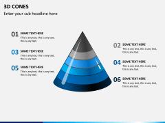 3D cones PPT slide 5