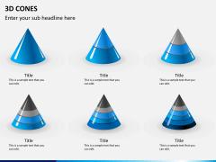 3D cones PPT slide 9