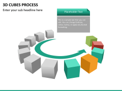 3d cubes process PPT slide 17