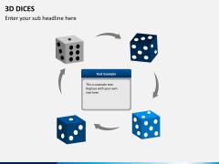 3D dices PPT slide 6