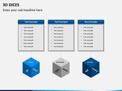 3D dices PPT slide 7