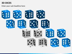 3D dices PPT slide 8