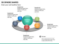 3D sphere PPT slide 11