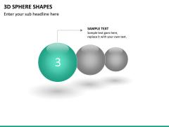 3D sphere PPT slide 12