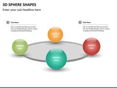 3D sphere PPT slide 15