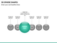 3D sphere PPT slide 19