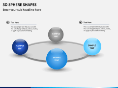 3D sphere PPT slide 5