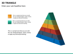 3D triangle PPT slide 14