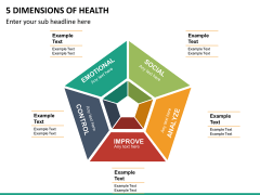 5 Dimensions of health PPT slide 8