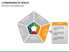 5 Dimensions of health PPT slide 10