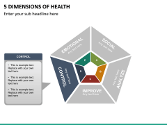 5 Dimensions of health PPT slide 12